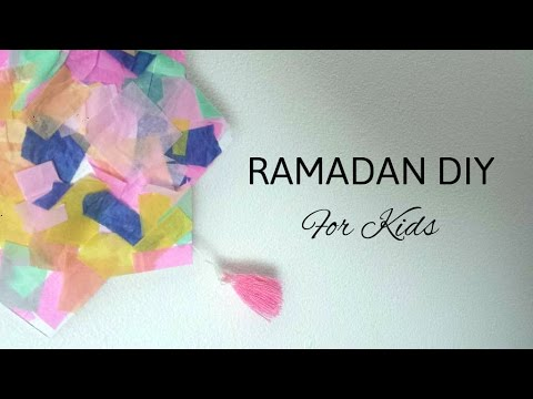 Ramadan DIY for Kids - All Languages