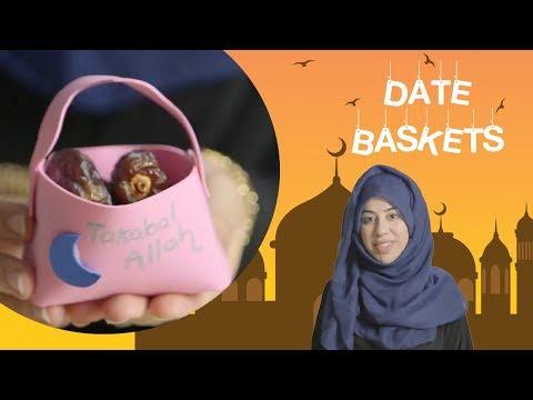 Date baskets - Crafty kids - English