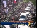 12thMay09 - Leader Ayatollah Khamenei Surrounded by Huge Crowd in Kurdistan-Visiting Martyrs Graves