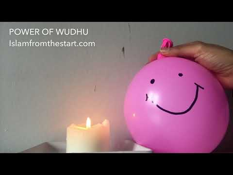 Power of Wudhu - English