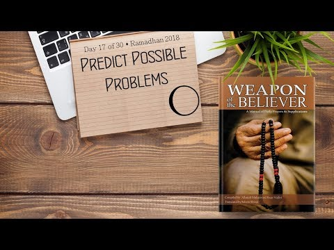 Predict Possible Problems - Ramadhan 2018 - Day 17 - English