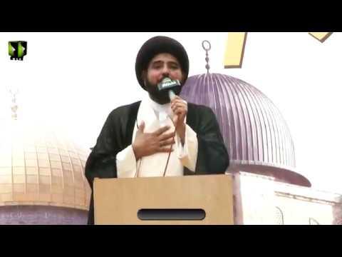 [Markazi Youm Al-QUDS Rally 2018]  Speech: Moulana Zaheer ul Hasan Karbalae | Karachi - Urdu