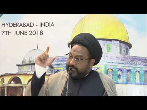 International Quds Day Conference | 7 June 2018 | Moulana Syed Taqi Raza Abedi