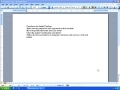 MS word 2003 tutorial - Documents Version - English