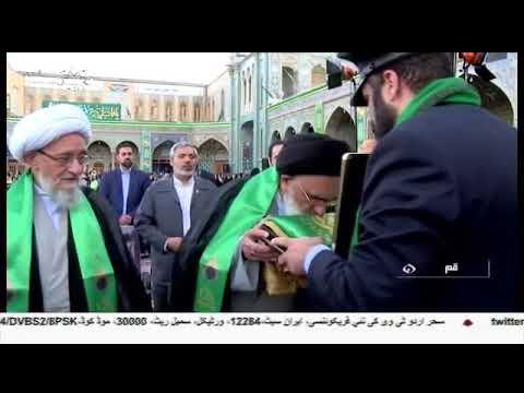 [15Jul2018] عشرہ کرامت کا آغاز، امام رضا علیہ السلام کی فضا میں پھولوں ک