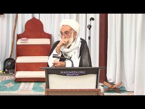 [Speech] H.I. Haider Ali Jawadi   30th Anniversary Shaheed Quaid Allama Arif Hussain Al-Hussaini - Urdu