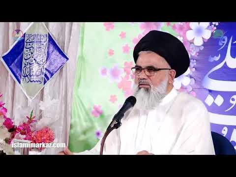 [Jashan e Eid e Ghadeer Lecture 2]  Ustaad Syed Jawad Naqvi Aug. 30 2018 Urdu
