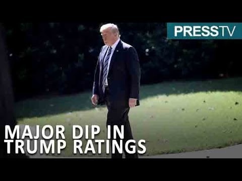 [12 September 2018] Trump average approval rating stands at just 38% - English