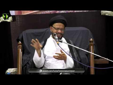 [02] Topic: اسلامی تعلیمات بمقابلہ سیکولرزم | H.I Syed Zaki Baqri | Muharram 1440 - Urdu