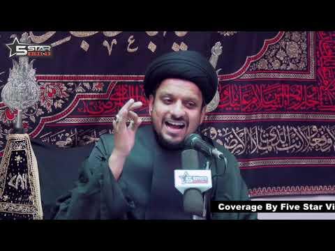 [01] Topic: Hamara Samaj Aour Husaini Taqaze | M.Zameer Abbas Jafri - Moharram 1440 - Urdu