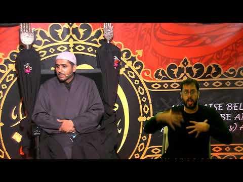 [ Eve 7th Muharram 1440] Topic: Faith And Community In A Changing World   Sheikh Murtaza Bachoo 16/09/2018 Stanmore UK 2
