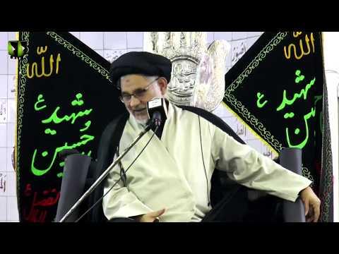 [05] Topic: Deen e Haneef - دینِ حنیف | H.I Hasan Zafar Naqvi | Muharram 1440 - Urdu