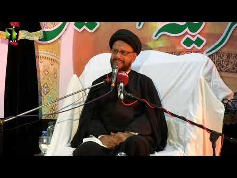 [05] Topic: اسلامی تعلیمات بمقابلہ سیکولرزم | H.I Syed Zaki Baqri | Muharram 1440 - Urdu
