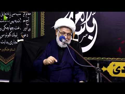 [06] Topic: تجلی امامت اور کربلا  | H.I Ghulam Abbas Raesi | Muharram 1440 - Urdu