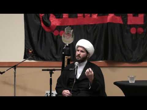 Muharram 1440 Night 5 - H.I. Sheikh Hamza Sodagar - Zainab Center Seattle WA - English