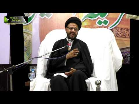 [07] Topic: اسلامی تعلیمات بمقابلہ سیکولرزم | H.I Syed Zaki Baqri | Muharram 1440 - Urdu
