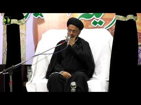 [08] Topic: اسلامی تعلیمات بمقابلہ سیکولرزم | H.I Syed Zaki Baqri | Muharram 1440 - Urdu