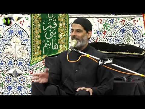 [08] Topic: قیامِ حسینی و سیرت نبوی | Moulana Mubashir Zaidi - Muharram 144 - Urdu