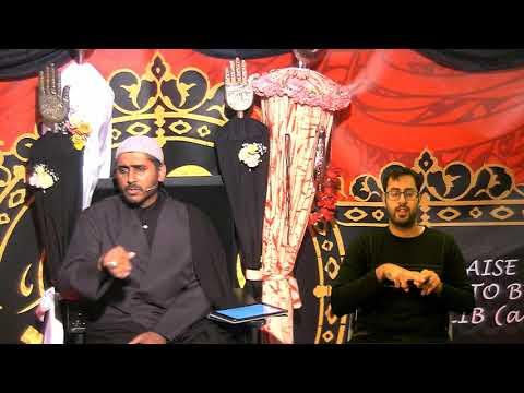 [ Eve 10th Muharram 1440] Topic: Faith And Community In A Changing World | Sheikh Murtaza Bachoo -19/09/2018 UK English