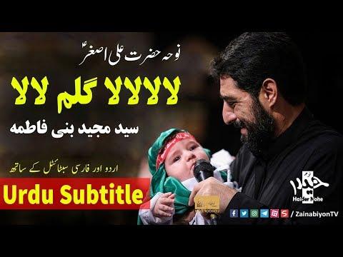 لالا گلم لالا (نوحه علی اصغر) مجید بنی فاطمه | Farsi sub Urdu