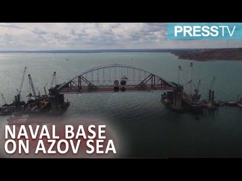 [25 September 2018] Ukraine starts building naval base on Azov Sea amid tensions - English
