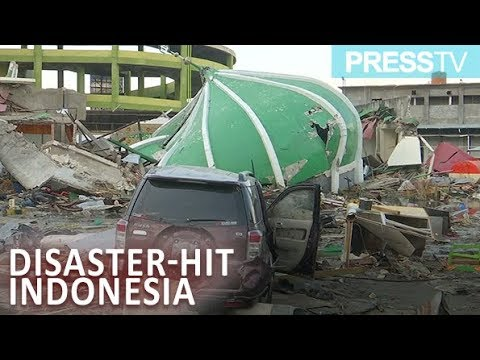 [3 October 2018] \'Scale of destruction emerges in disaster-hit Indonesia - English