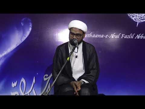 7th Majlis-E-Aza Topic: ALAVI DAUR-E-HUKUMATH MEIN AMEERUL MOMINEEN(A.S) KA KIRDAAR By H I Akhtar Abbas Jaun-Urdu
