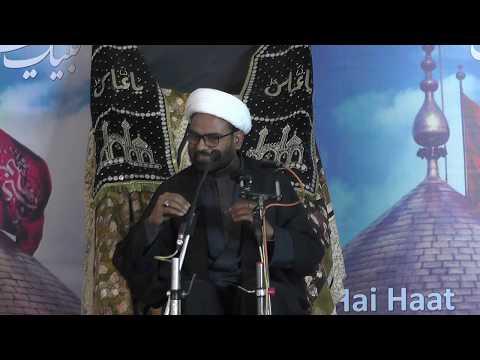 8th Majlis 8th Muharram 1440 Hijari 2018 Topic:Izzat e Hussaini - Ummat ki Nijaat kaa Zariya By H I Akhtar Abbas Jaun-Ur