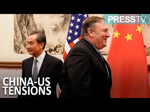 [09 October 2018] China, US foreign ministers keep each other to task - English