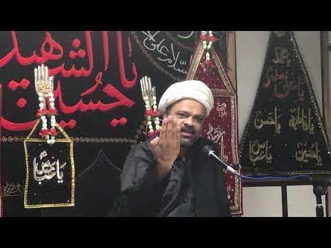 Majlis-E-Aza 8th Moharram 1440 Hijari 18.09.2018 Topic: Irfan-E-Imamat By H I Ghulam Raza Roohani - Urdu