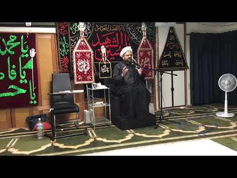 Majlis-E-Aza 3rd Muharram 1440/13.09.2018 Topic:Irfan-E-Imamat By H I Ghulam Raza Roohani - Urdu