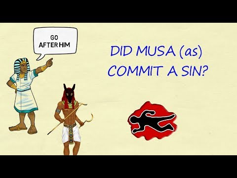 Prophethood Lesson 6 - Did Musa (as) commit a sin? - English