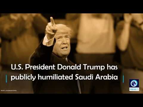 [10 October 2018] WATCH: Trump publicly humiliates Saudi Arabia - English