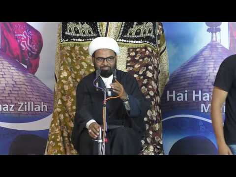 #3 Izzat e Hussaini - Ummat ki nijaat kaa zariya - Muharram 2018 - Akhtar Abbas Jaun - Urdu
