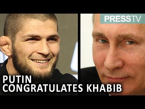 [11 October 2018] Putin congratulates Khabib on \'convincing\' victory against McGregor - English