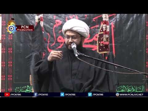 2nd Majlis 26 Muharram 1440/7.10.2018 Topic:Ahl e bayt (asws) aur Azadari e Imam Hussain(asws) By H I Sajid Hussain Vaki
