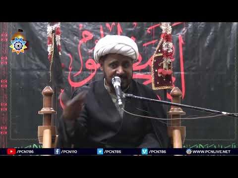 1st Majlis 25th Muharram 1440 Hijari 6th October 2018 Topic:Shaa'er Allah ki Tazeem aur Azadari By H I Arshad Hussain-Ur