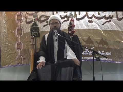 Majlis E Aza Topic: Asaan Aur Khushhal Zindagi Ke Usool Imam Sajjad(A.S) By Agha Raeesi at Bhojani Hall Karachi