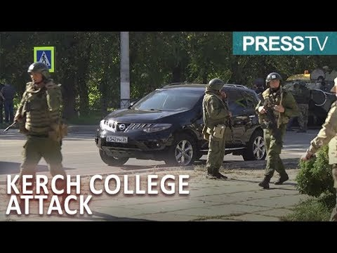 [18 October 2018] Russia: Emergency operation continues at Kerch college attack site - English