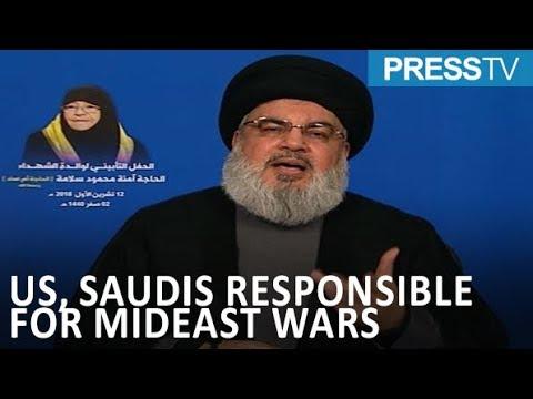 [20 October 2018] Nasrallah: US-Saudi-Israeli axis responsible for wars in region - English