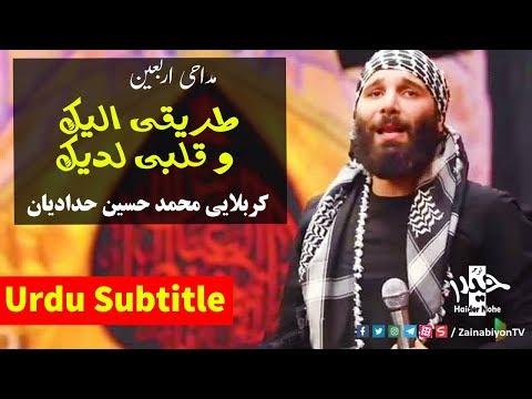 طریقی الیک و قلبی لدیک (مداحی اربعین) محمد حسین حدادیان | Farsi sub