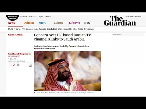 [1 November 2018] Report: UK-based anti-Iran TV channel links to Saudi crown prince - English