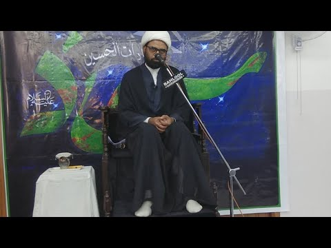 4th Majlis-E-Aza 24th Safar 1440 Hijari 3rd Nov 2018 Topic: Seerat e Imam Sajjad (as) By Allama Akhtar Abbas Jaun - Urdu