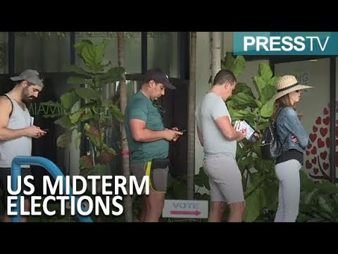 [5 November 2018]  Huge turnout reported in early voting for midterm elections - English