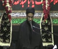 7th Majlis Night of 18th Safar 1436 Hijari کرامتِ انسان - H I Syed Zaigham Rizvi -urdu