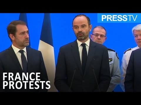 [9 December 2018] French PM calls for new dialog with