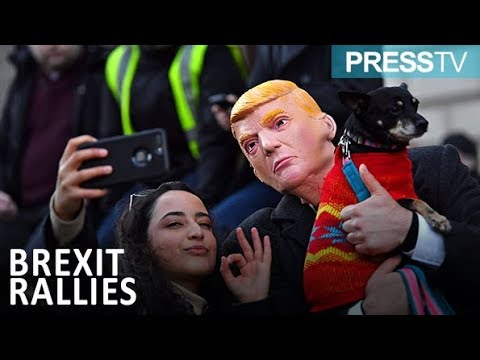 [10 December 2018] Rivals rallies in London ahead of Brexit vote - English