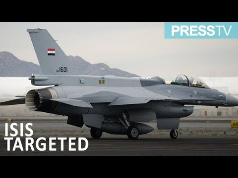 [1 January 2019] Iraqi jets kill 30 Daesh commanders in eastern Syria - English