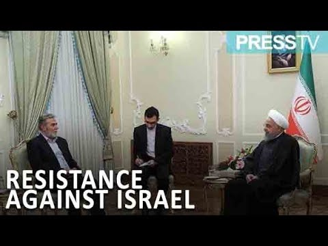 [2 January 2019] Rouhani: Resistance only way for Palestinians - English