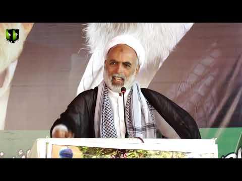 [Speech] Yom e Bakia tul Allah   Fikr e Toheed Convention  Mol.Raza Saeedi - Sindhi